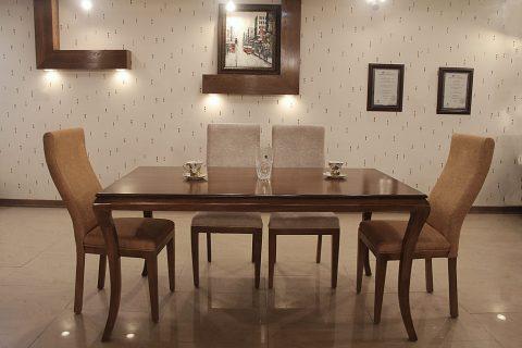 میز و صندلی مدل کوئیین